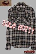 「JELADO」Nep Check Western Shirts ジェラード ネップチェック ウエスタンシャツ JP21108 [ブラック]