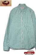 「JELADO」B.D.Shirts ジェラード ボタンダウンシャツ ギンガムチェック JP41122 [フォレストグリーン]