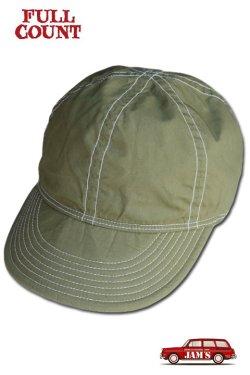 画像1: 「FULLCOUNT」A-3 ARMY CAP フルカウント コットン アーミーキャップ [カーキ]
