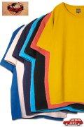 「JELADO」Crew-Neck Tee ジェラード クルーネック 丸胴 半袖Tシャツ AB94214 [マスタード・バニラ・レッド・ターコイズ・ネイビー・ブラック・ブルー]