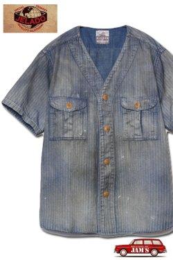 画像1: 「JELADO」Adventure Shirts Vintage Finish ジェラード アドベンチャーシャツ ヴィンテージ加工 AB42127 [フェイドインディゴウォバッシュ]