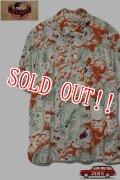 「JELADO」Pullover B.D. Aloha Shirts ジェラード ボタンダウン アロハシャツ 百虎 SG42107 [オールドトマト]