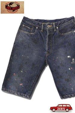画像1: 「JELADO」44Denim Shorts Vintage Finish 14oz ジェラード 44デニム ショーツ ヴィンテージ加工 JP42325 [フェイドインディゴ]