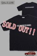 「CAL O LINE」THE BROOKLYN BANKS PRINT S/S T-SHIRTS キャルオーライン プリント 半袖Tシャツ  CL1912-002 [ブラック]