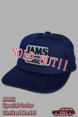 画像1: 「JAMS ORIGINAL」RELIEVES MESH CAP ジャムズオリジナル リリーブス メッシュキャップ J1908 [ネイビー]