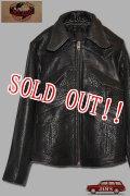 「JELADO」Winchester Leather Jacket ジェラード ウィンチェスター バッファローレザー RG94405 [ブラック]