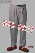 「CAL O LINE」AORAKI PANTS キャルオーライン アオラキ パンツ CL201-100 [グレー]