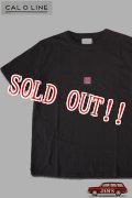 「CAL O LINE」TICKET T-SHIRTS キャルオーライン チケット 半袖Tシャツ  CL201-081 [ブラック]