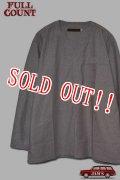 「FULLCOUNT」Military Sleep Shirt フルカウント ミリタリースリープ シャツ プルオーバー [ヘザーグレー]