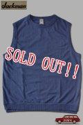 「Jackman」USA Cotton Tee Vest ジャックマン コットンカットソー ベスト JM5118 [アッシュブルー]
