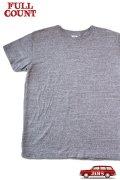 「FULLCOUNT」Heather Labor T-Shirt フルカウント ヘザーレイバー 半袖Tシャツ  [ヘザーグレー]